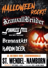 31.10.18 KrawallBrüder - mehr hass Tour 2018 - St.Wendel