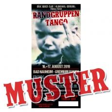 RGT - TICKET-EINZELN  16.-18.08.19 - Das Böse Buben Club & Oldschool Criminal Sommerfest