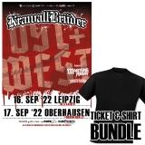 11.12.21 - Shirt-Bundle KrawallBrüder Ost-Show: Leipzig + 2x Support